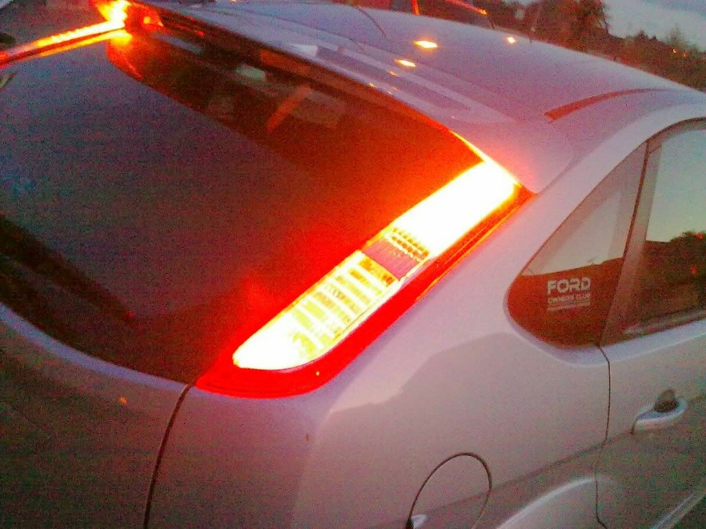Guide Ing Ford Focus Rs Tail Lights To Non Model