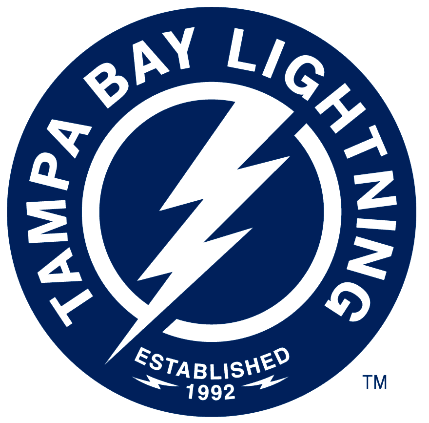 Tampa Bay Lightning Alternate Logo 2018 19 Pres Lightning Bolt Inside Blue Circle W Tampa Bay Lightning Tampa Bay Lightning Hockey Tampa Bay Lightning Logo