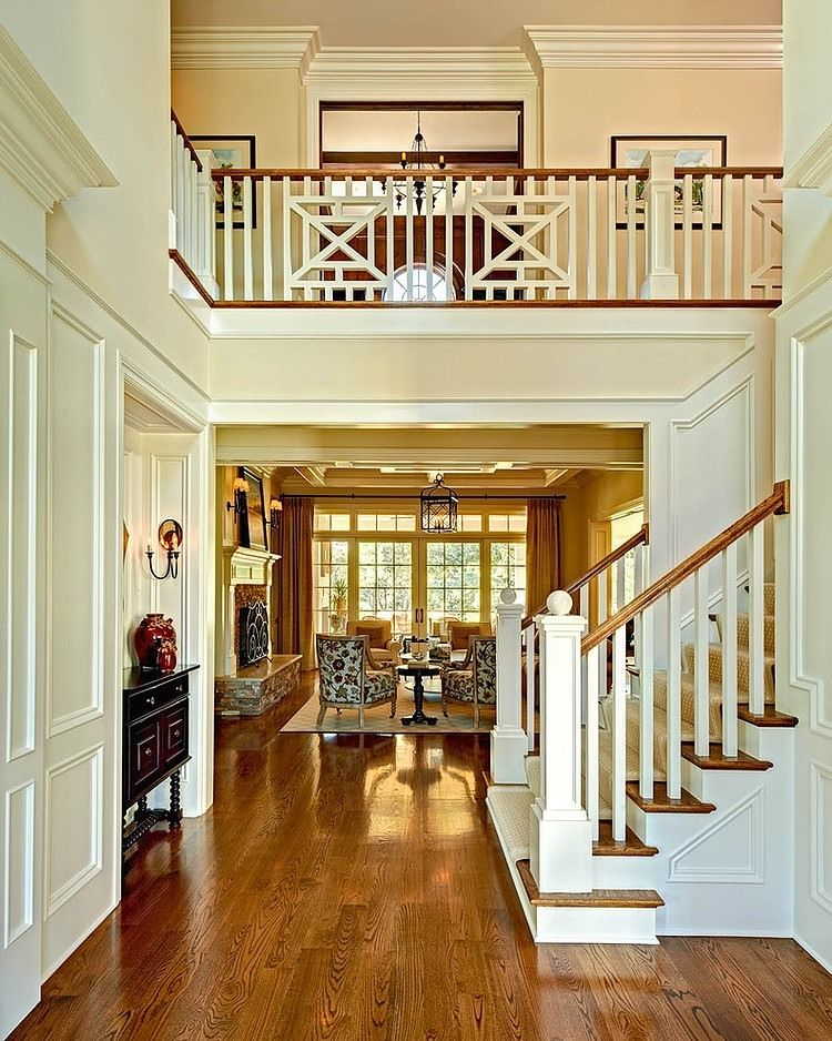 CC by Carolina Design Associates | Staircases, House and Foyers