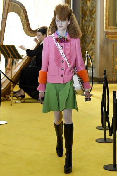 View the complete Resort 2018 collection from Gucci.