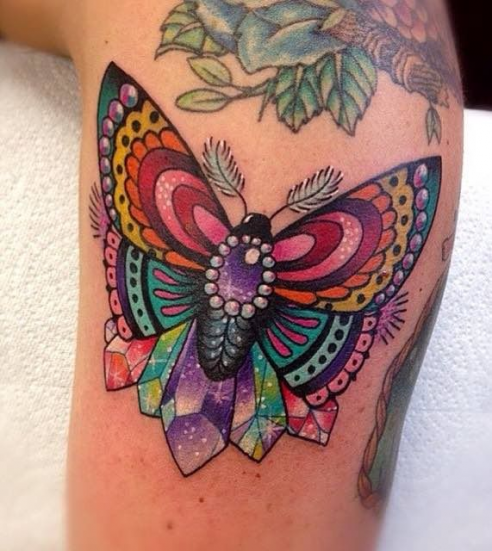 Photo of Butterfly Tattoo by Roberto Euan #tattoo #butterfly #tattoo