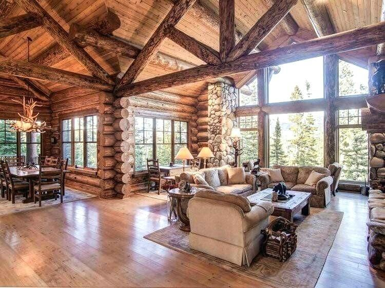 Log Home Interiors Log Home Interior Decorating Ideas Impressive