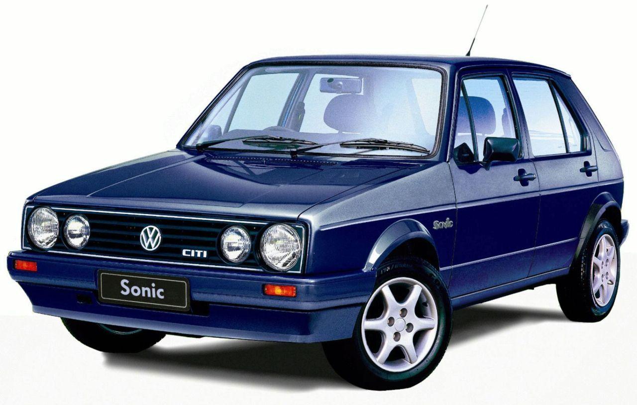 South African VW Golf Citi Sonic Volkswagen golf mk2