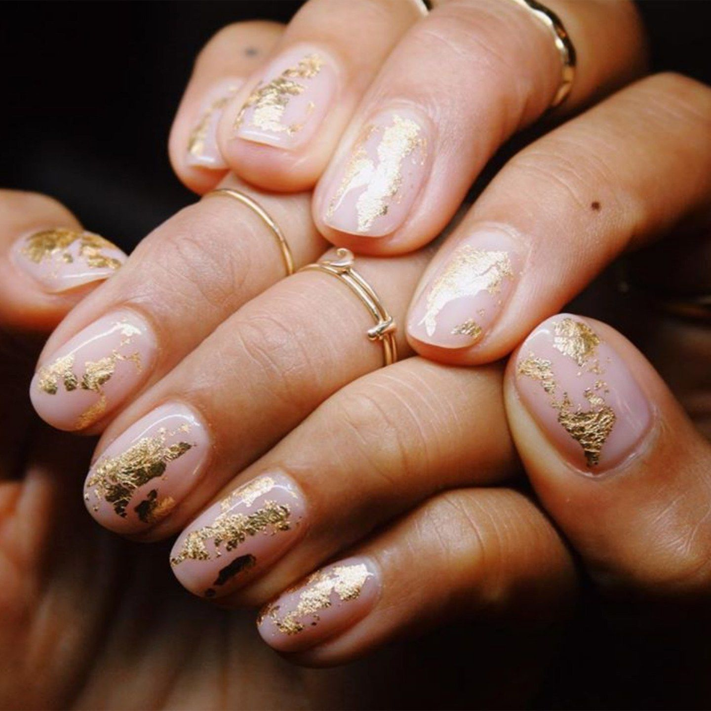 Photo of Festive Manicures Are Go: Here Are 12 Of The Best Gold-Accented Nails