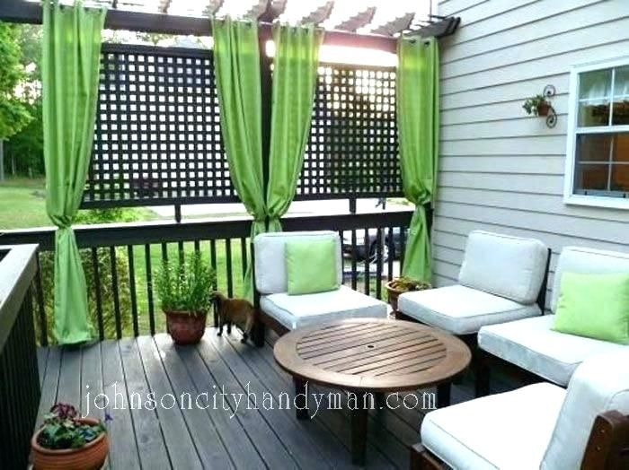 Apartment Deck Privacy Ideas For Patios Outdoor Patio Using