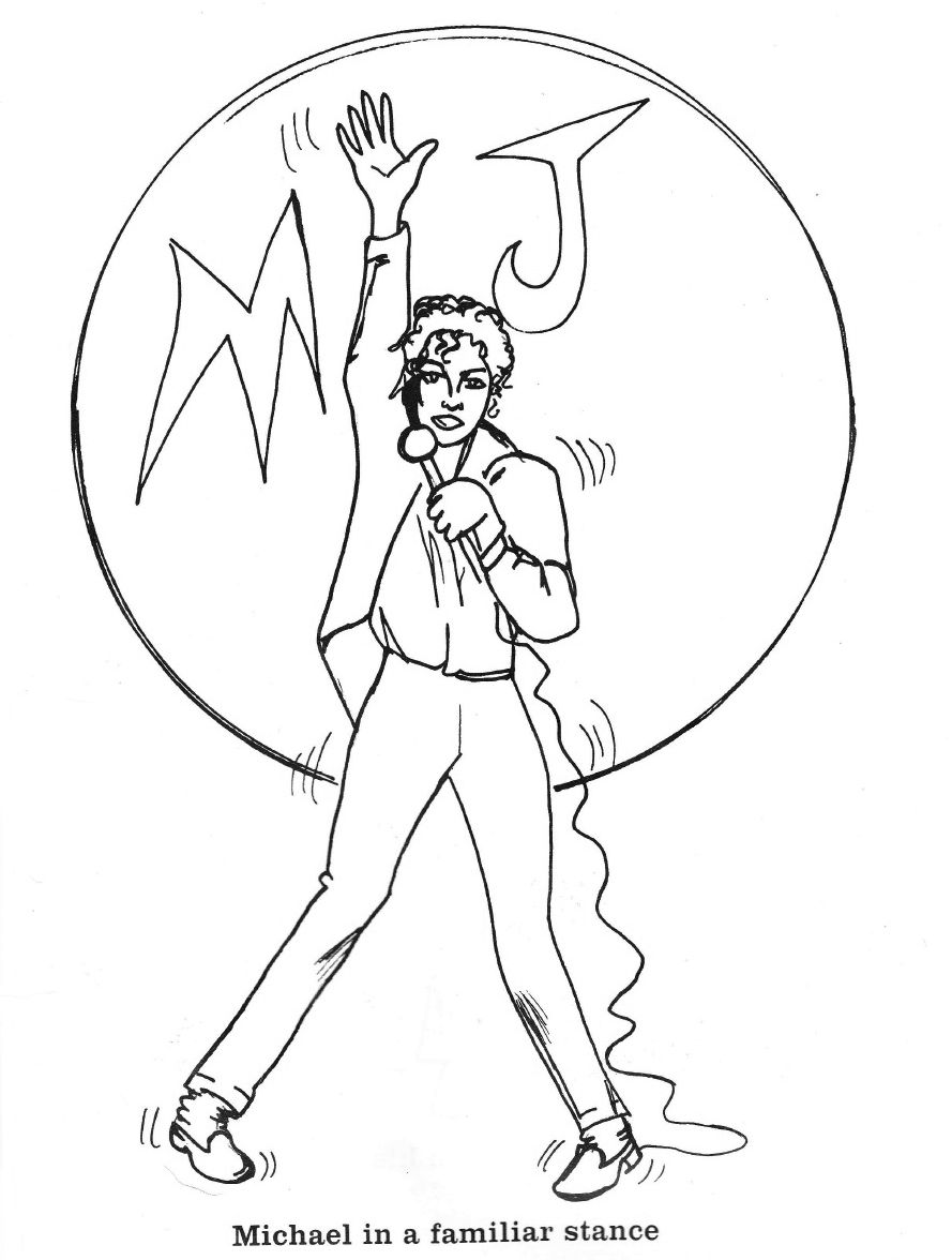 Pin On Michael Jackson Coloring Book