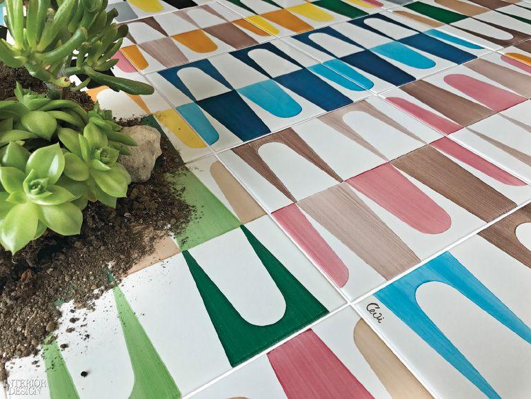 Happy days ceramic tiles by cevi ceramica vietrese by vietri ceramic