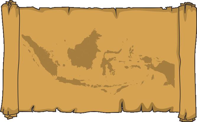 Indonesia Treasure Map