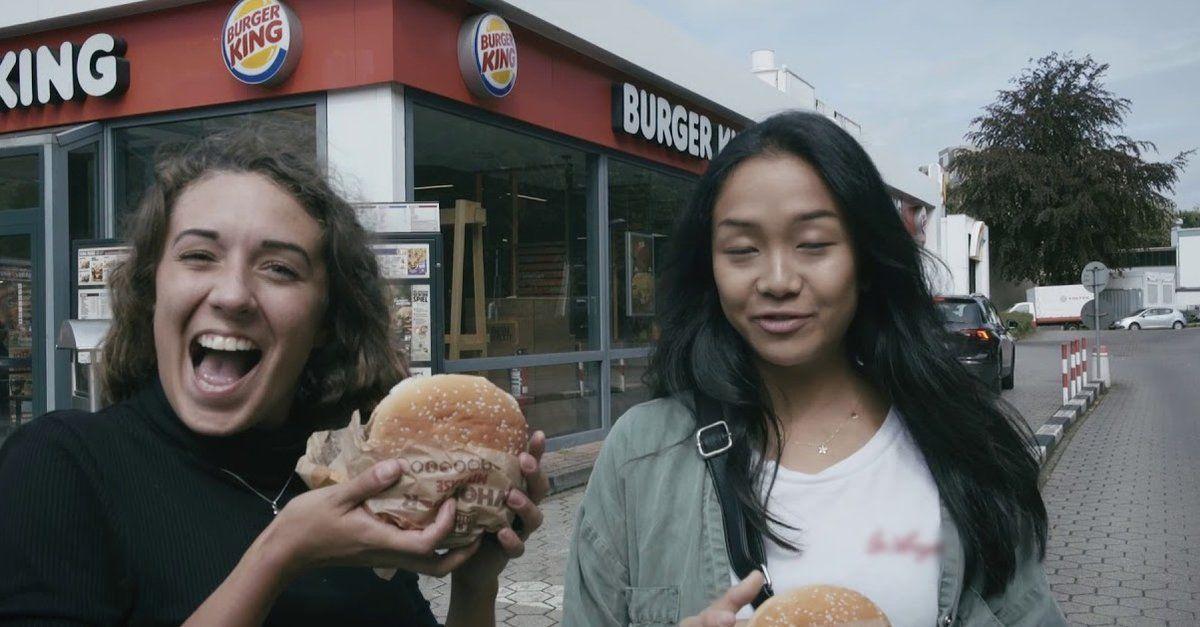 Burger King Entkomme Dem Clown