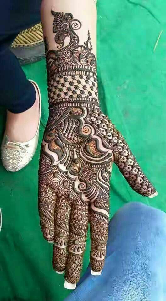 45+ Latest Full Hand Mehndi Designs