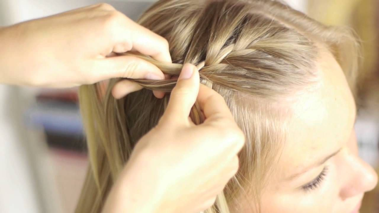 How to: Watervalvlecht voor kort, medium en lang haar