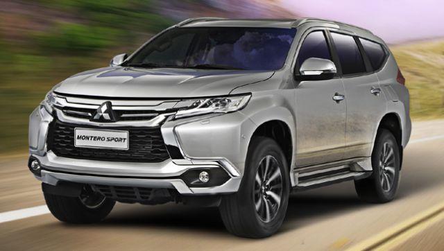2017 Mitsubishi Montero Sport Front