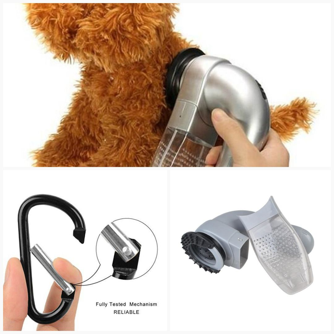 Puppy Electric Hair Shedding Grooming Brush Unload Vacuum Cleaner