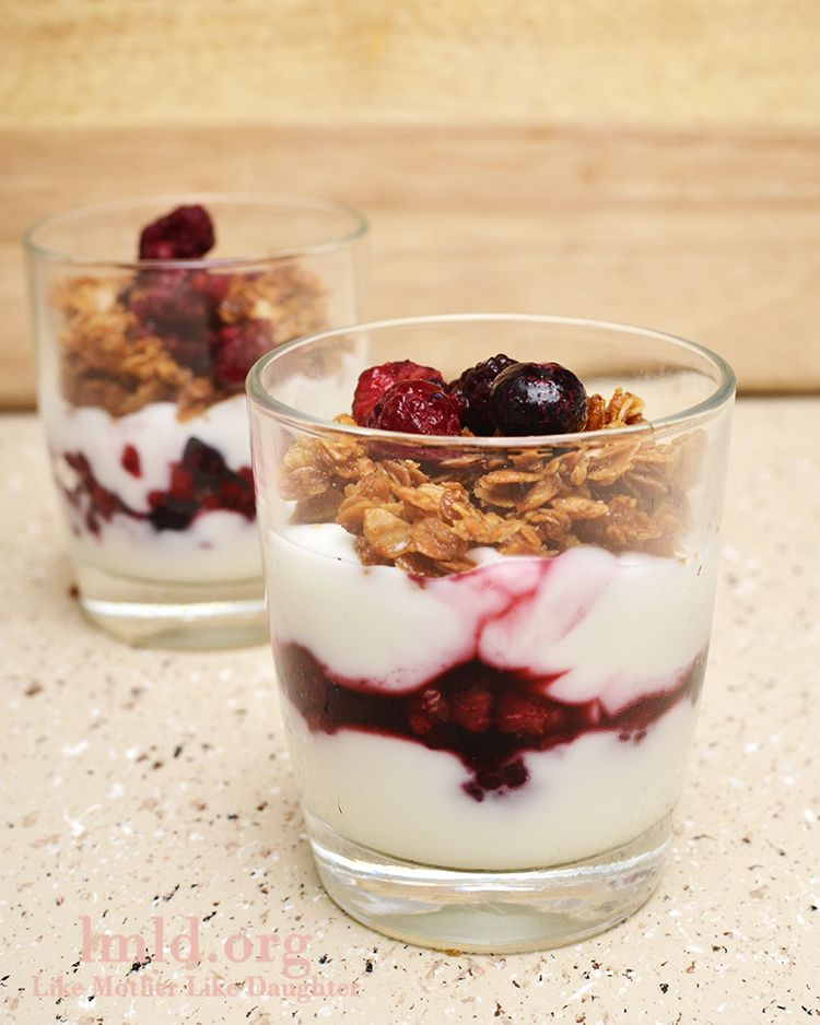 These simple and delicious fruit and yogurt parfaits make ...