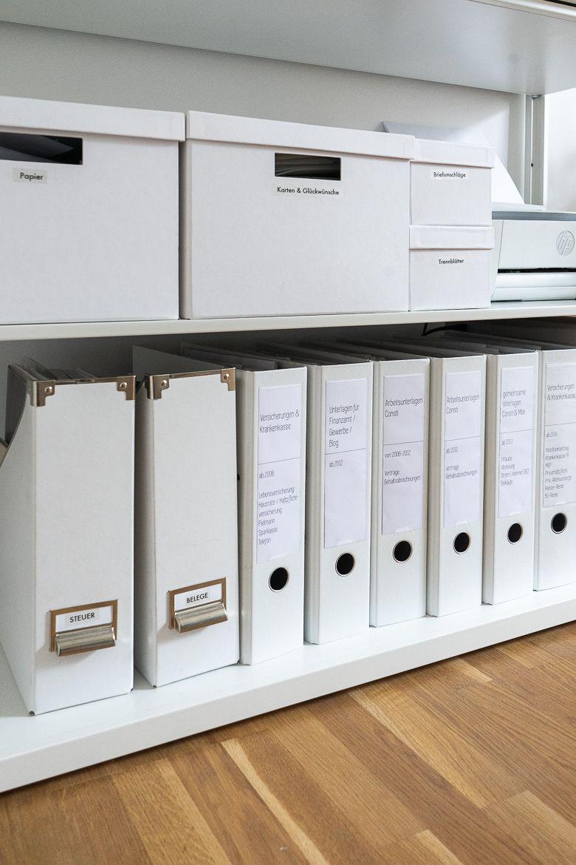 Ordnung schaffen im Home Office mit einem Beschriftungsgerät