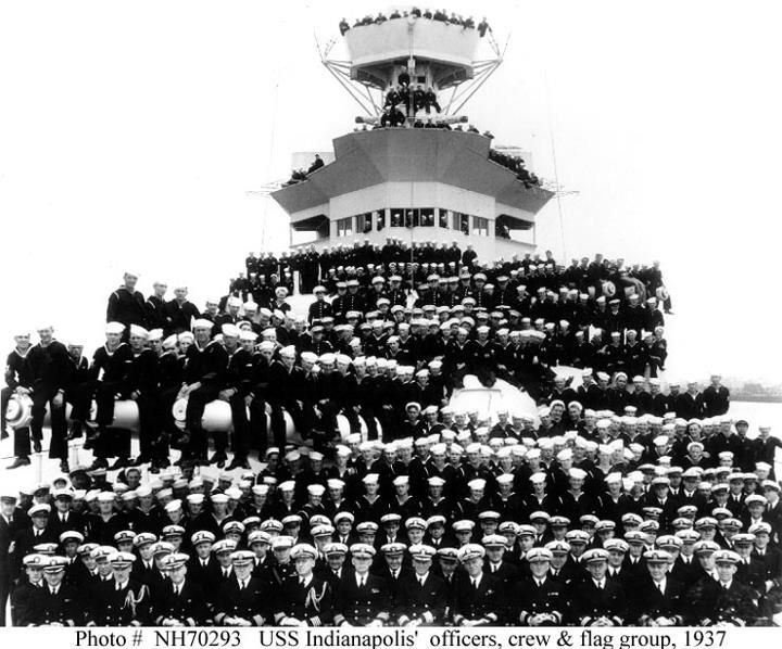 On July 30, 1945 the U S S  Indianapolis CA-35 was sunk  880 men