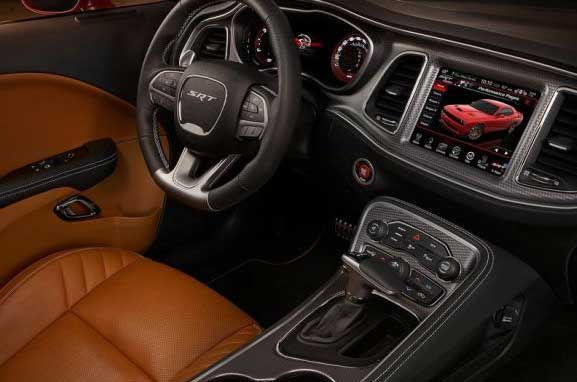 Interior Of 2016 Jeep Grand Cherokee Hellcat Handitech