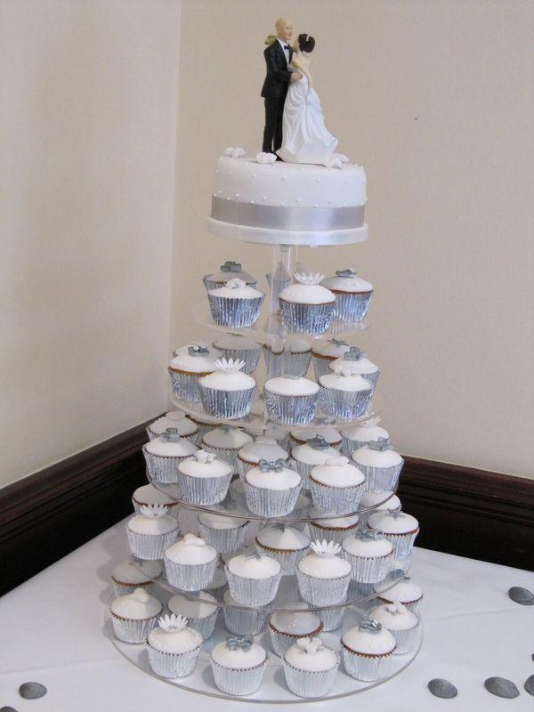 white wedding cupcakes - Google Search | wedding | Pinterest ...