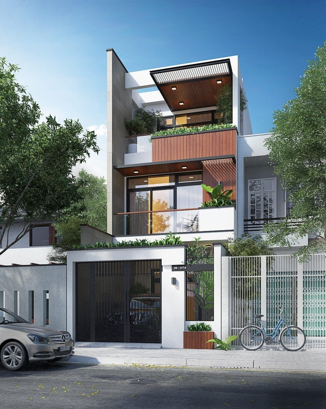 Facade House Small Modern Home Cool House Designs: Small House Design, Modern House Design, Facade House