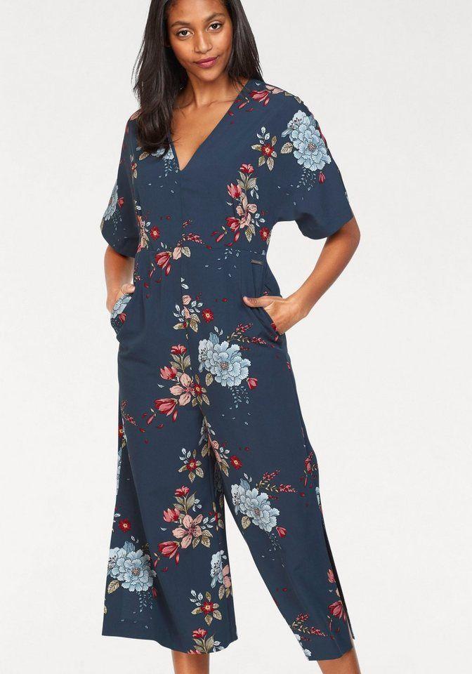 Outlet Store Verkauf Einkaufen Turnschuhe für billige Pepe Jeans Overall »CALAIA« mit Blumen-Print in 2019 ...