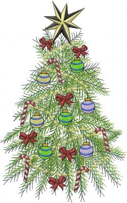 Christmas Tree Embroidery Designs Machine Embroidery Designs At Embroiderydesigns Com Christmas Embroidery Designs Machine Embroidery Projects Christmas Tree Embroidery Design