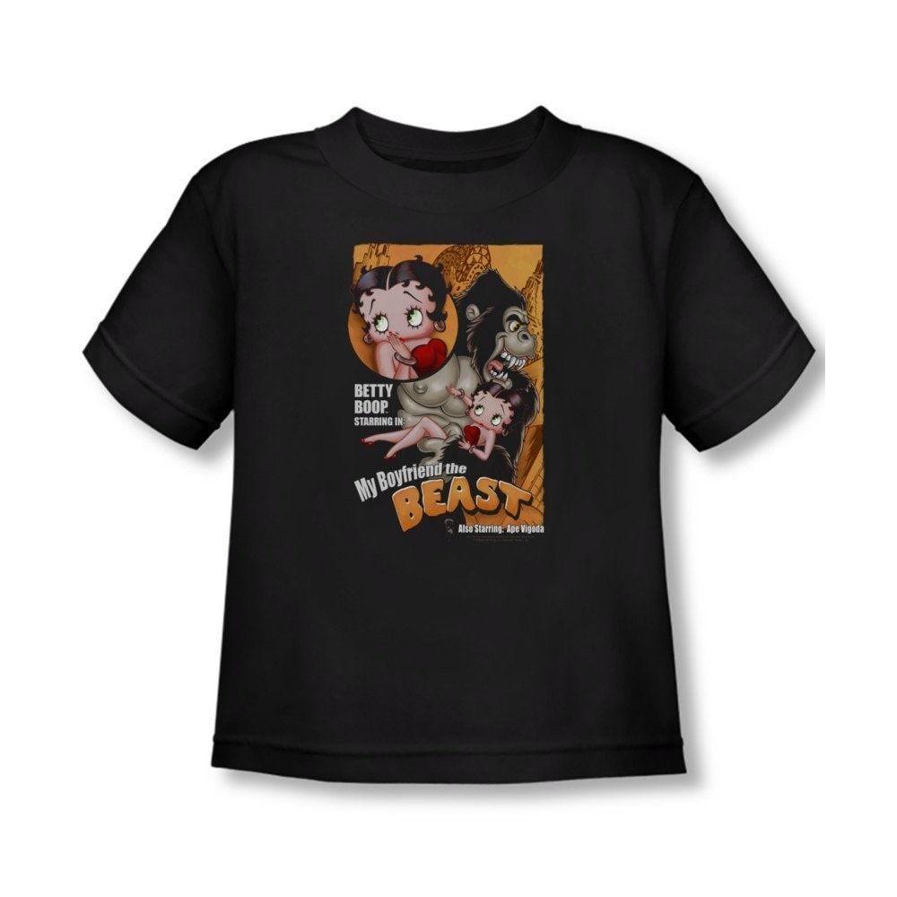 Betty Boop - Boyfriend The Beast Toddler T-Shirt