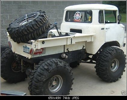 Lifted Jeep Fc 170
