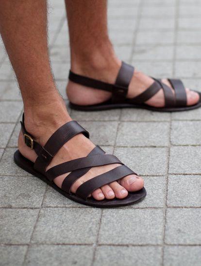 Men´s Sandals   Mens sandals fashion, Mens leather sandals, Stylish sandals