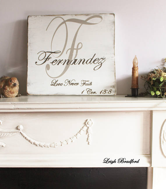 Personalized Family Name Sign/ Best Wedding Gifts/Custom name