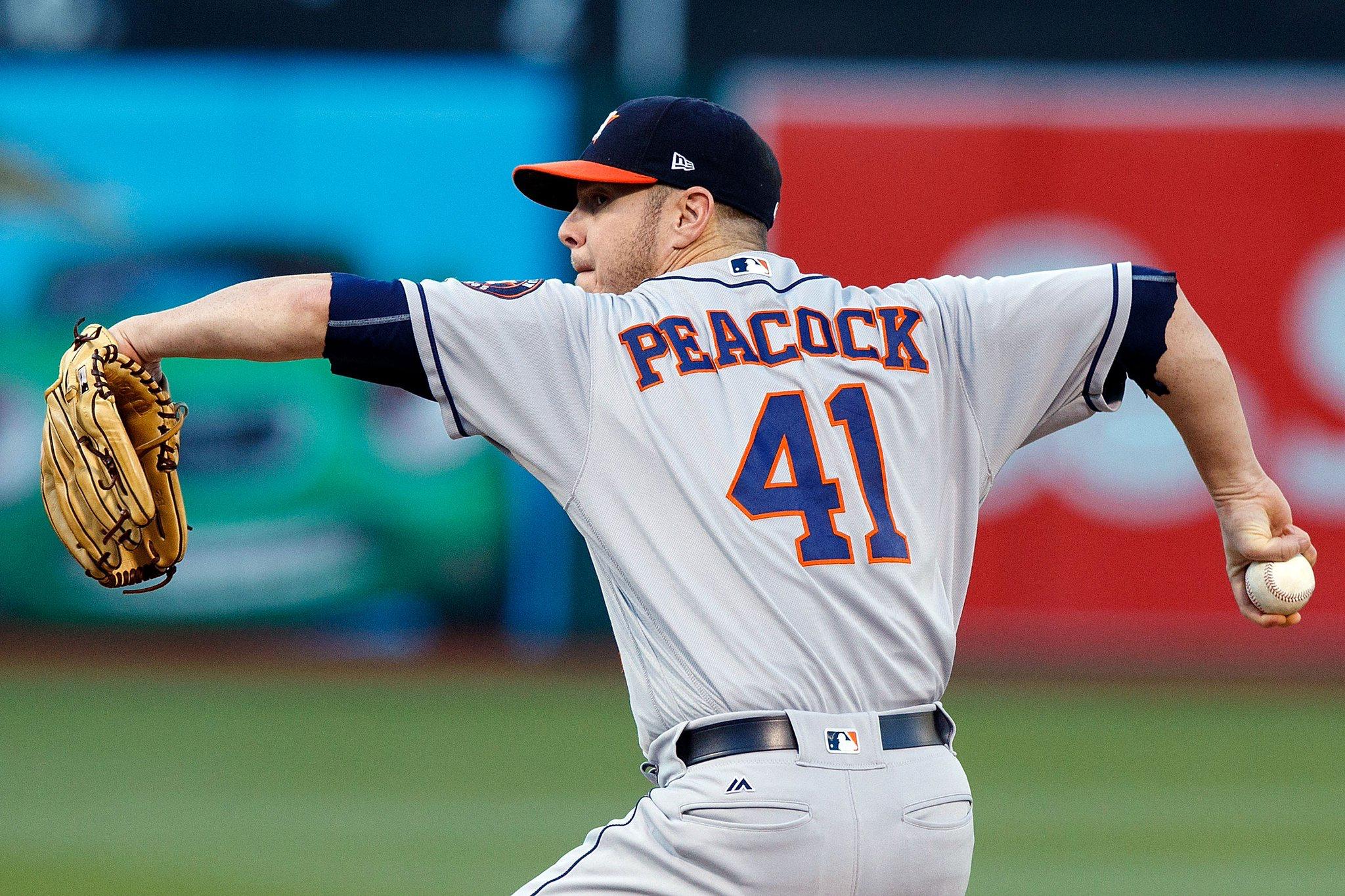 Brad Peacock Houston astros, Sports baseball, Astros