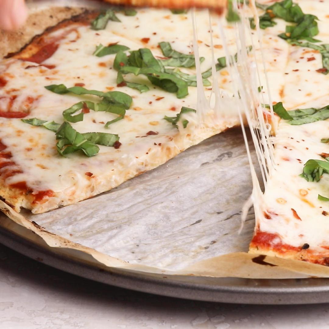 Photo of Cauliflower Pizza Crust Video