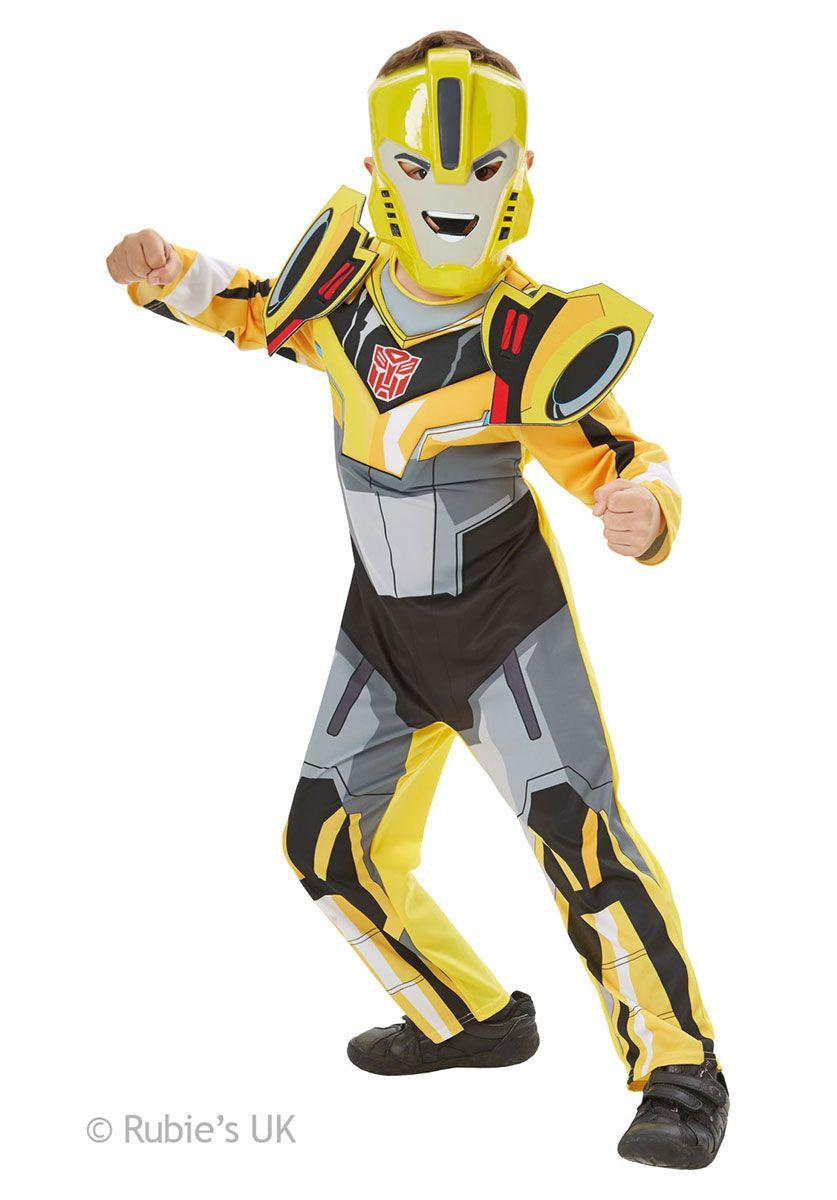 Transformers Bumblebee Kids Deluxe Party Costume - Superhero at Escapade™ UK 5c97307707