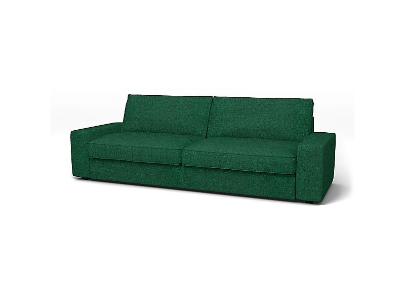 Ikea Kivik Sofa Bed Cover Bemz In Ivy Green Recycled Cotton