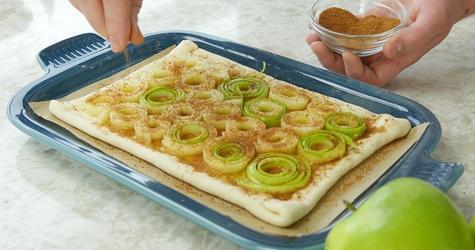 Apple tart kitchenaid sheet cutter recipe noodle blade