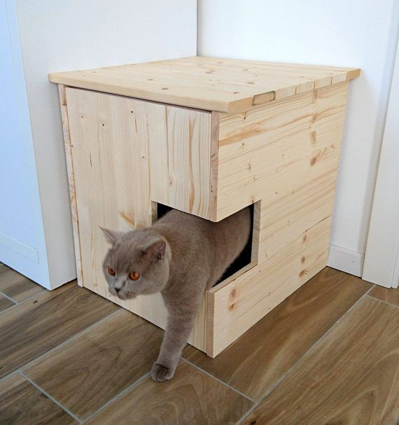Corner Litter Box Cover Pet House Cat Litter Box Cabinet Pet Furniture Made Of Spruce Wood Meuble Pour Animal De Compagnie Bac A Litiere Chat Mobilier Pour Chat