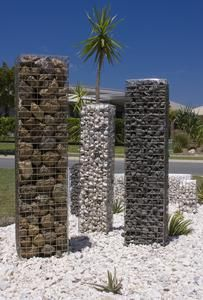 We Offer A Wide Selection Of Gabion Columns Amd Posts At