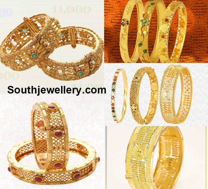 NAC Jewellers Bangles Collection   fashion   Pinterest   Bangle ...