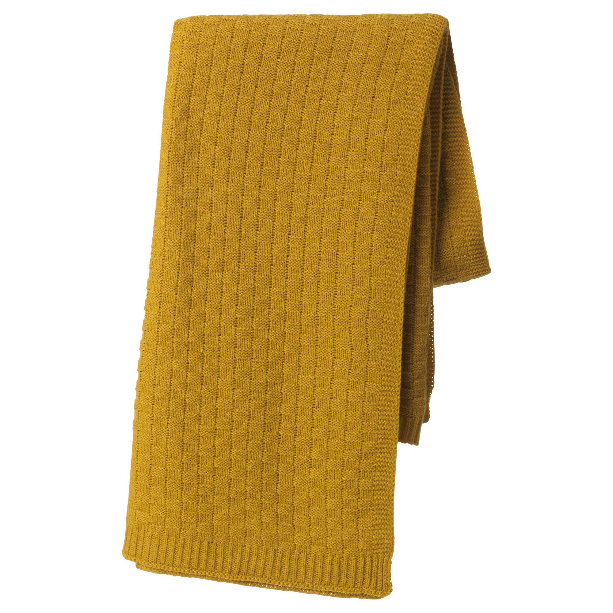 Opdateret ANTOINETTA Throw Yellow IKEA in 2019   Ashland Bedroom   Ikea LI97