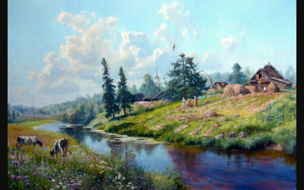 Vladimir Zhdanov: biography and paintings of the artist 55