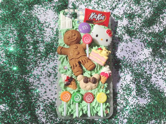 Kawaii Candy iPhone 5s Case ONE OF A KIND by TellUrFriends on Etsy