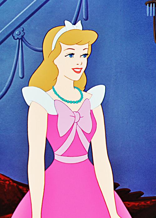 Cinderella in her pink dress | Disney animation ... - photo#37
