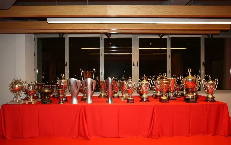 Part of the 40 Greek League titles collection of ...