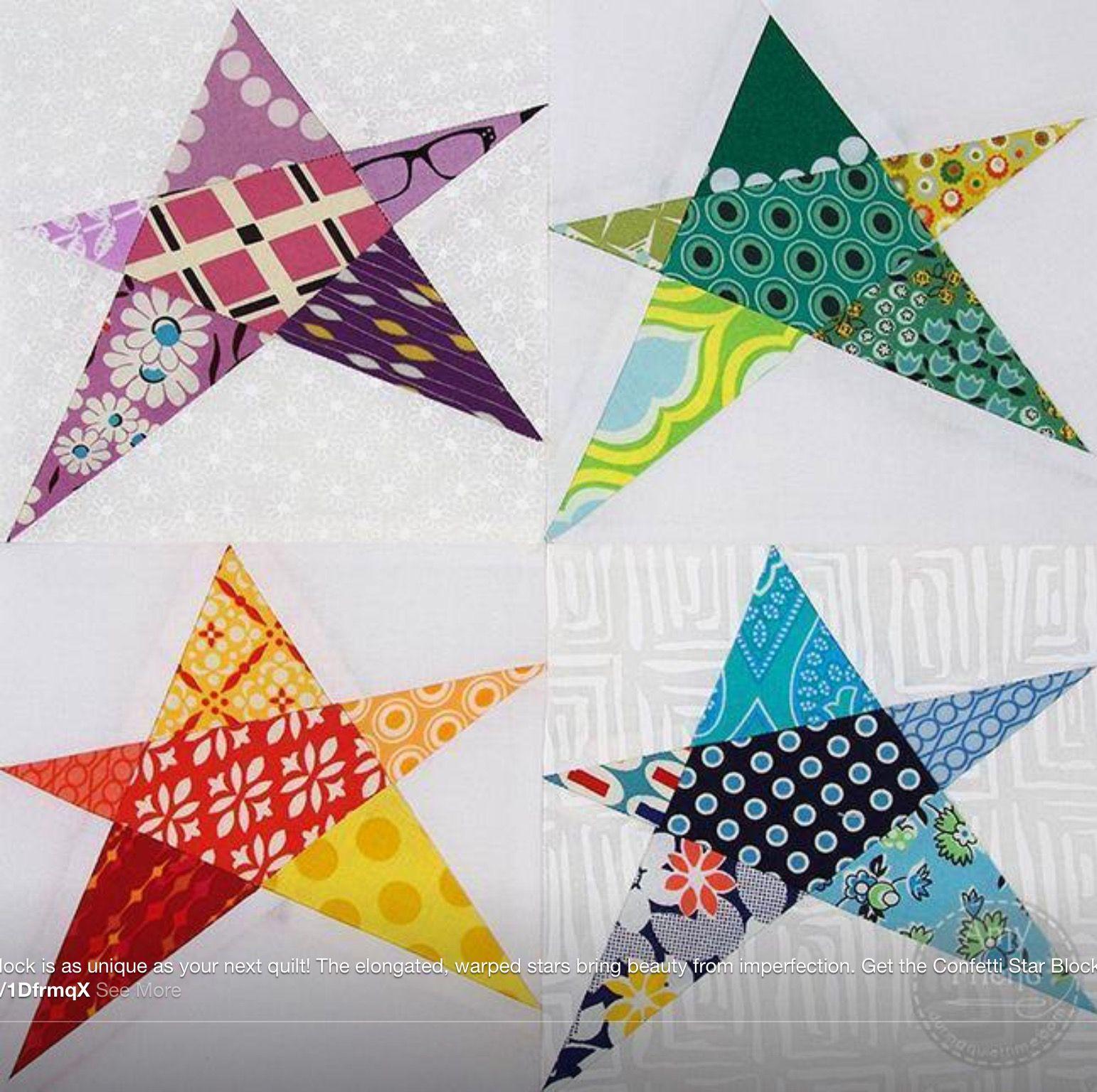Crazy stars | crazy quilt patterns | Pinterest | Star, Star quilts ... : crazy star quilt pattern - Adamdwight.com