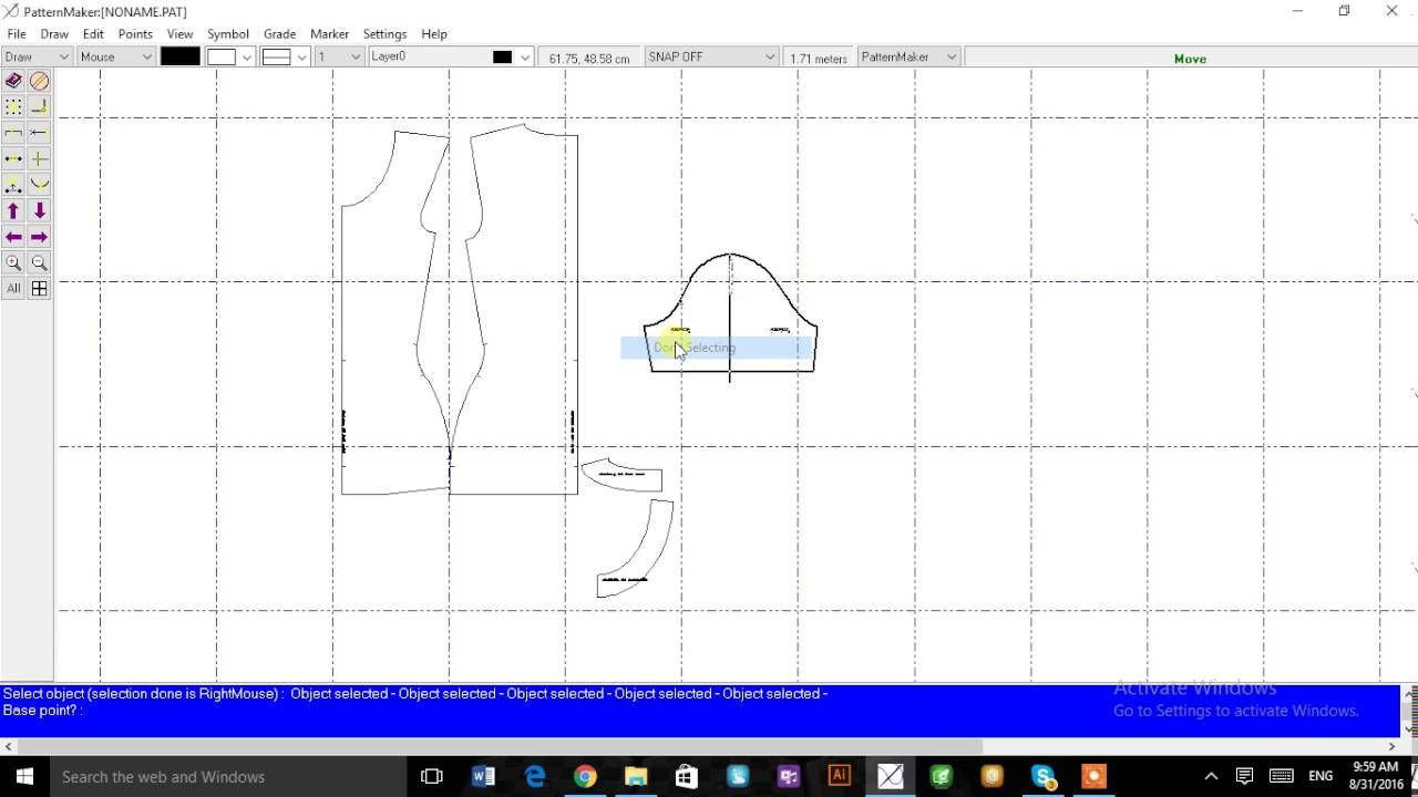 Patternmaker USA: How to use the Deluxe editor | Sewing 101: Sewing ...