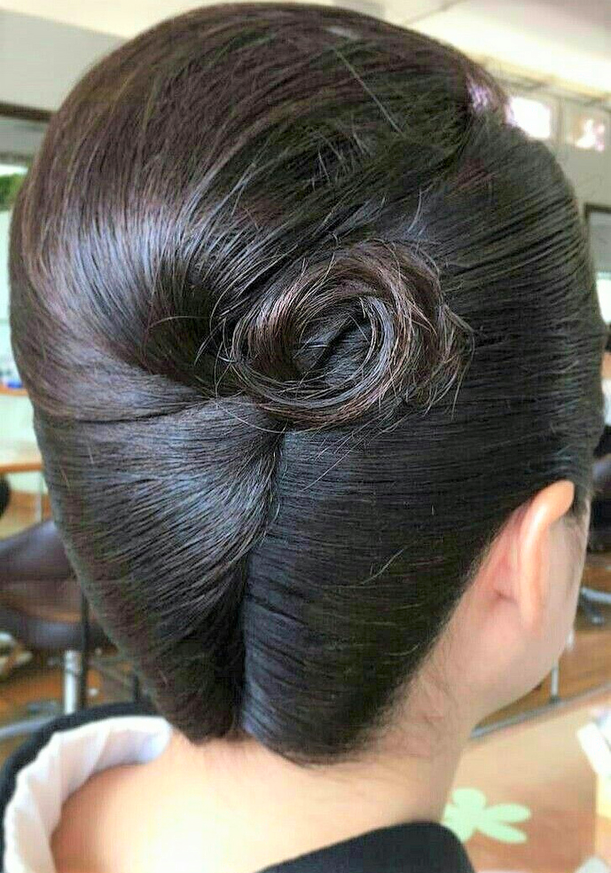 Pin By Rick Locks On French Twist French Twist Hair Hair Styles Roll Hairstyle