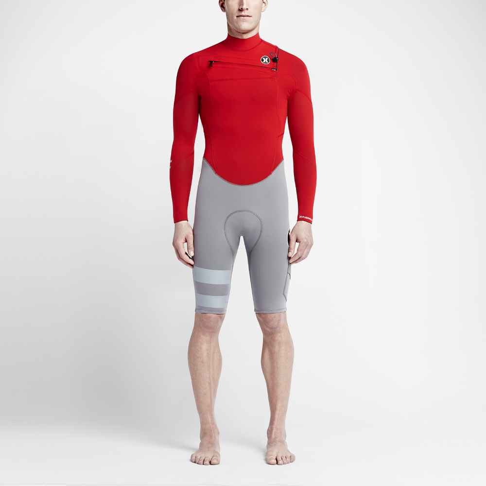 Hurley Fusion 202 Long-Sleeve Springsuit Men s Wetsuit Size Medium (Red) -  Clearance Sale 82a419b2a