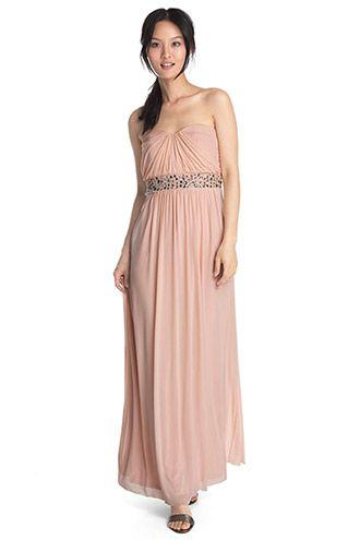 Esprit   corsage maxi dress with decorative stones  73d3c7fa4cb
