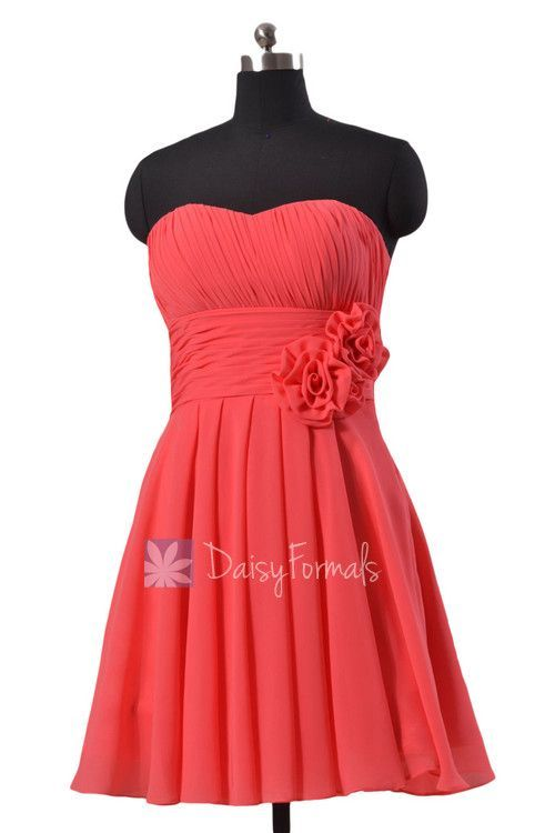 Red Long Dresses for Beach Weddings