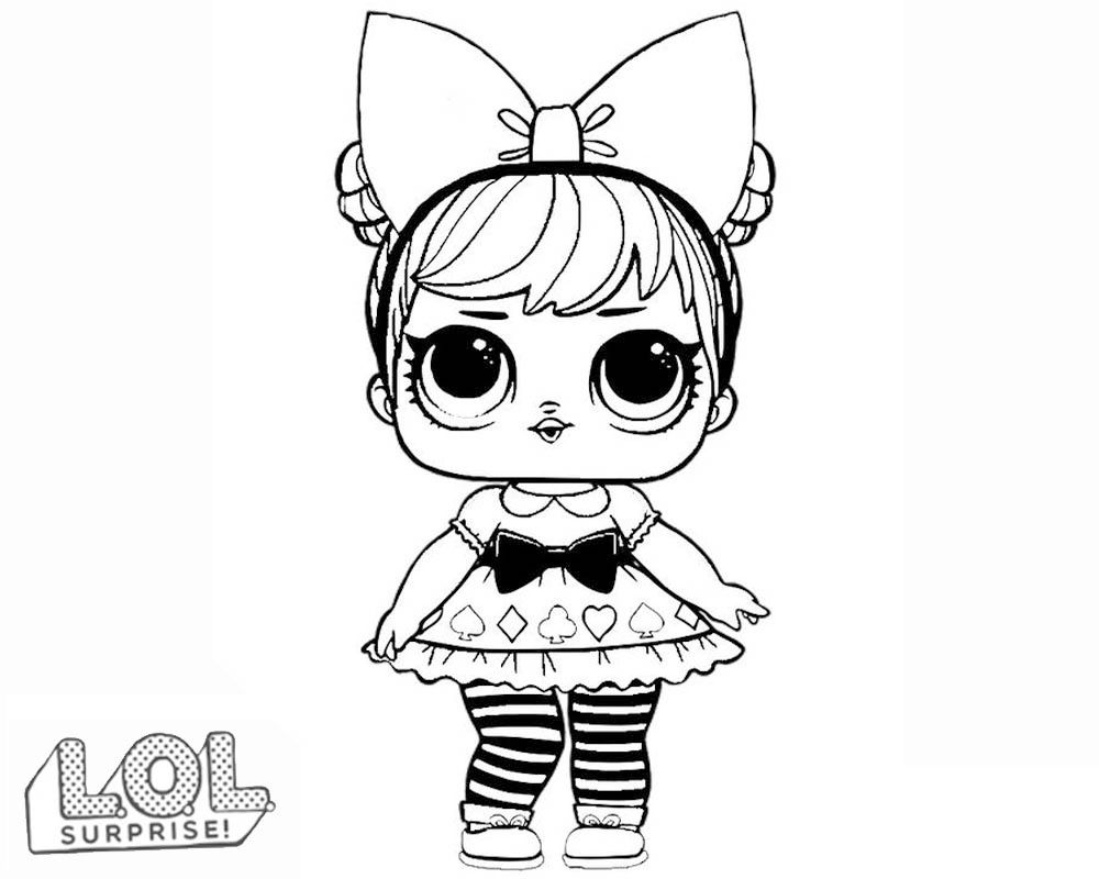 Lol Surprise Dolls Coloring Pages Lol Dolls Unicorn Coloring Pages Coloring Pages