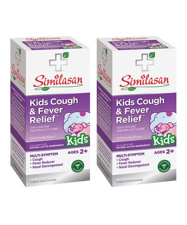 Another Great Find On Zulily Kids Cough Fever Relief Syrup Set Of Two Zulilyfinds Mucus Relief Congestion Chest Congestion